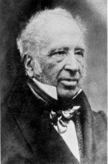 Sir George Cayley  British aviation pioneer  c 1850.