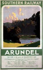 'Arundel'  SR poster  1932.