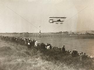 Monsieur Christiasons at the Bournemouth Flying Meet  c 1910.