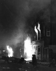 Brixton riots  London  April 1981.