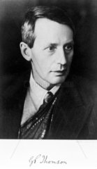 Sir George Paget Thomson  English physicist  c 1930s.