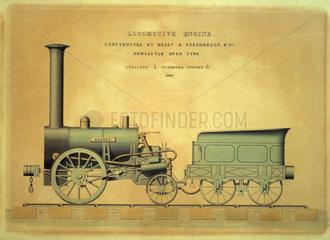 Stephenson's 'Rocket'  1831.