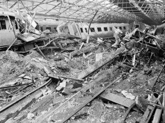 Bomb damage  c 1942.