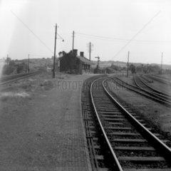 Little Mill Junction station  5 July 1952.