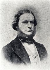 Gustav Kirchhoff  German physicist  c 1860s.