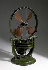 Gas-powered fan heater  1909-1920.