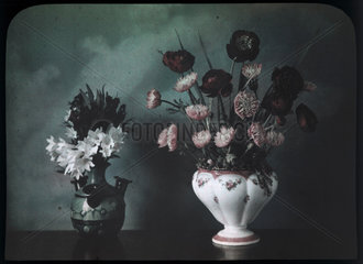 'A Flower Study - Still Life'  c 1910-1915.