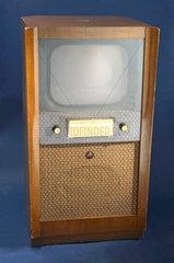 HMV monochrome television receiver  c 1951.