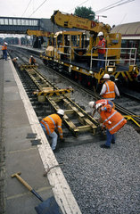 Track laying  1998.