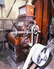 Casein grinding machinery at BP Chemicals  Stroud.