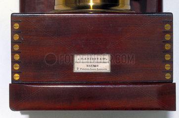 Daguerreotype portrait camera  c 1860.