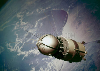 Vostok 1 capsule  1961.