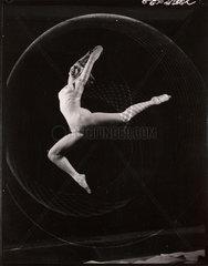 'Female nude/Dance study'  c 1960.