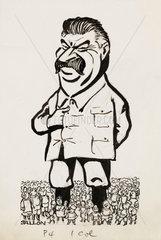 Stalin cartoon  c 1935.