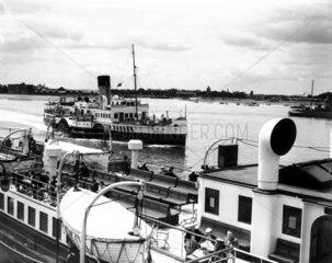 'Sandown'  Paddle steamer  July 1939. 'Sand