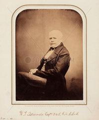 William Thomas Brande  British chemist  1854-1866.