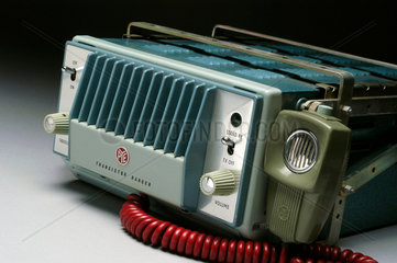 Pye 'Ranger' VHF radio telephone set  c 1960s.