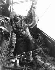 Fisherman holding up a fine specimen.