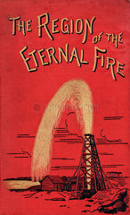 Cover to 'The region of the eternal fire'  1884.