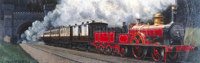 The West Coast Express  1865.