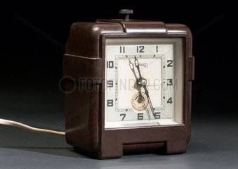 Synchronous mains electric clock of the non self-starting type  c 1936.