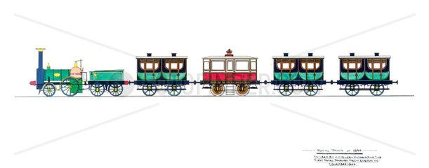 Royal Train  1844.