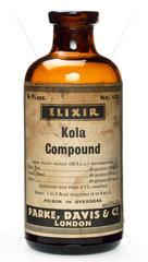 Bottle of Kola Compound Elixir  1920-1950.