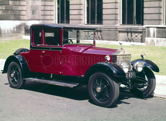 Rolls-Royce Twenty motor car  1928.