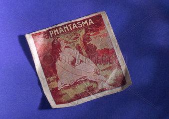 Condom packaging  'Phantasma'  1930-1940.
