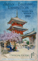 Japan-British Exhibition catalogue  1910.
