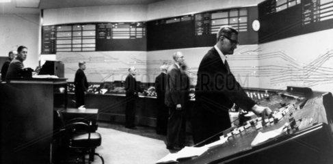 Signal box control unit  Newcastle  May 1961.