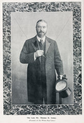 Thomas Henry Ismay  founder of the White Star Line  late 19th century.
