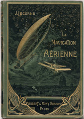 Cover to 'Aerial navigation'  1912.