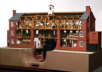 Collycroft worsted textile mill  Bedworth  Warwickshire  c 1790.