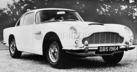 Aston Martin DB5  September 1963.
