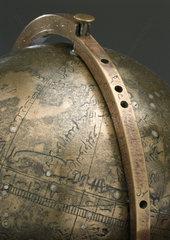 Arabic celestial globe  18th century.