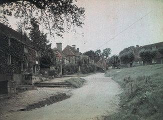'Groombridge Village'  c 1910-1915.