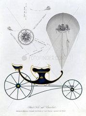 Patent kite and charvolant  1827.