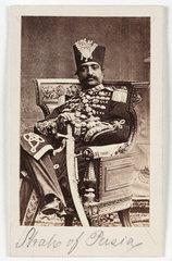 'Shah of Persia'  c 1875.