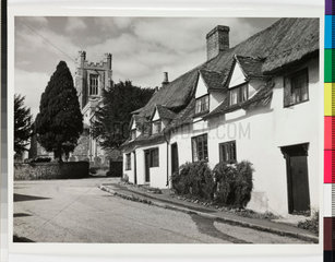 Country cottages  Newport  Essex  1958.