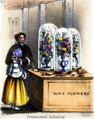 'Ornamental Industry'  c 1845.