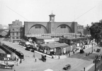 King's Cross station  c 1927.