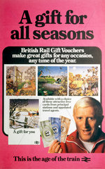 'A Gift for all Seasons'  BR poster  1982.