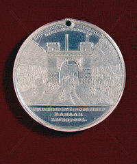Medal commemorating the opening of the LMR  1830.