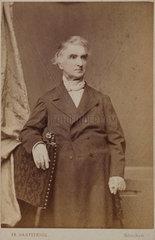 Justus von Liebig  German chemist  c 1860-1873.
