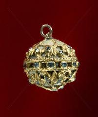 Gold pomander  16th century.