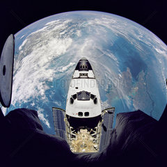 Fish-Eye View of Atlantis  1995.