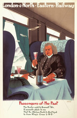 'Passengers of the Past'  LNER poster  1929.
