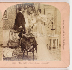 'The light of love shines over all'  1897 .