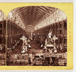 'The Nave  From the Eastern Dome'  1862 .